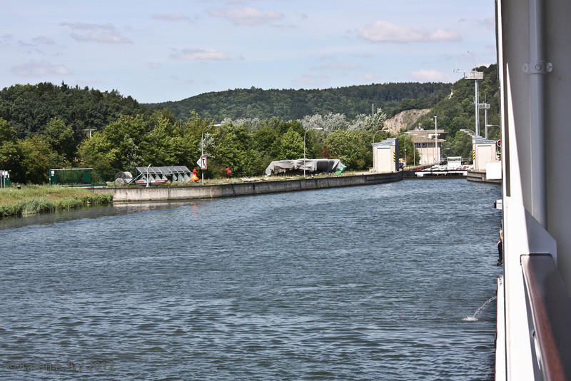 Another lock coming up, at Bad Abbach