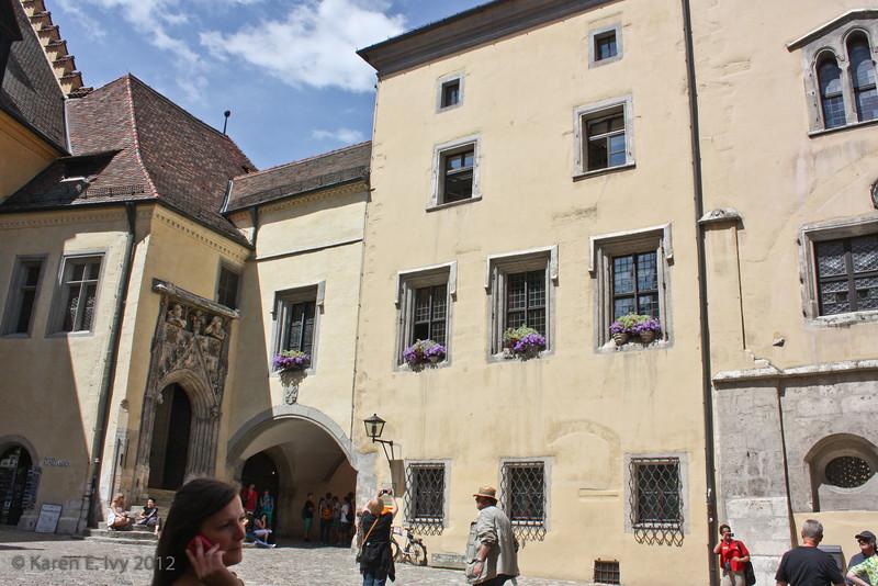 Rathaus courtyard