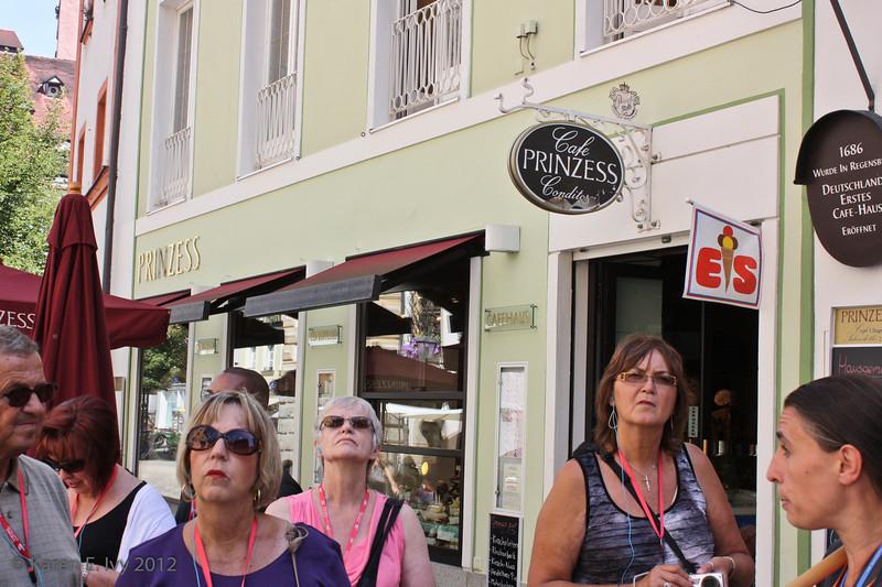 Regensburg's oldest coffee house