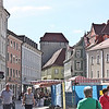 Regensburg street - we decided to walk back a different way
