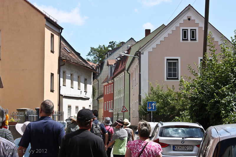 Walking through Regensburg