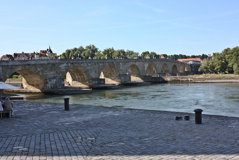 The Stone Bridge over the Danube
