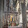 Pillar with image of the Virgin