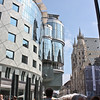 "Hans Hollein's ""Haas Haus"" next to St. Stephen's"