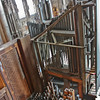 Organ pipes, from the gallery
