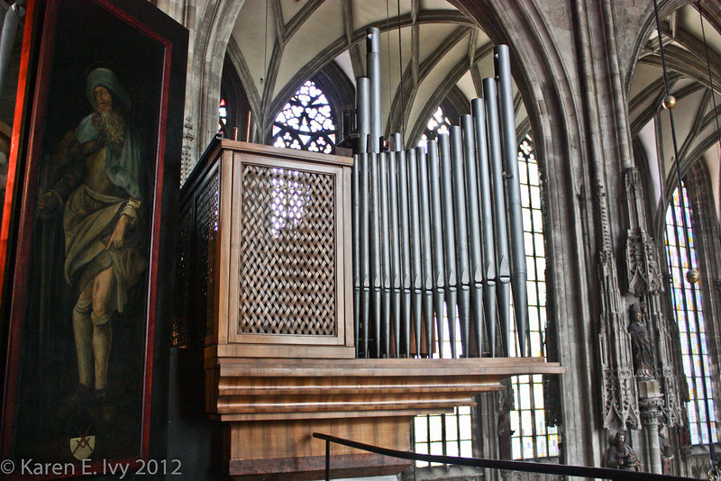 Upper organ, from the museum gallery
