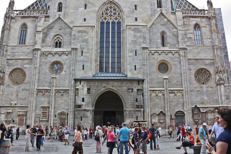 St. Stephen's Cathedral, main door