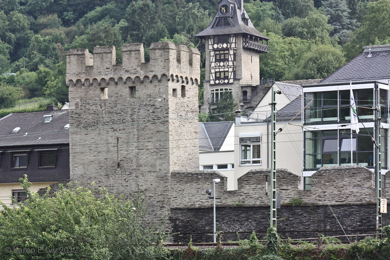 Oberwesel city wall remnant