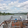 From the Embla top deck, the Rhine