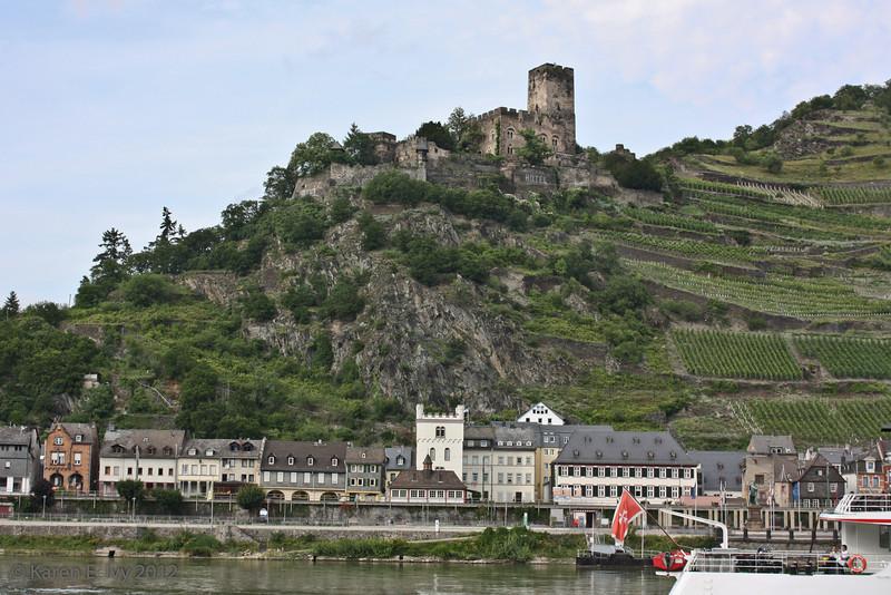 Kaub, below Burg Gutenfels