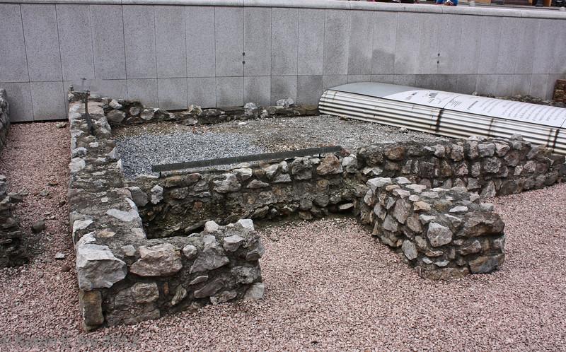 Roman ruins, near Michaelsplatz