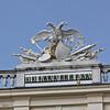 Schönbrunn Palace, unusual clock