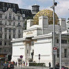 The Secession Building; the Vienna Secession was initially headed by Gustav Klimt