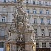 The Pestsäule or Plague Column, erected in the 1680s after one of the last major plague outbreaks