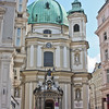 Peterskirche. It's back a little side street off Graben.