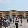 Schönbrunn Palace, facade