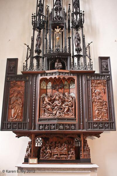 Heilig Blut Altar (altar of the Holy Blood) - St. Jakob's
