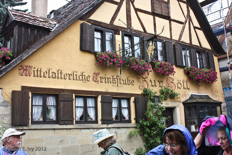 A German pub, Zur Böll - we didn't go in
