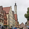 Rothenburg Rathaus tower, from the Herrngasse