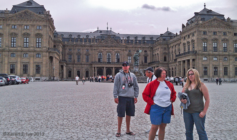 Courtyard, Prinz-Bishop's Residenz