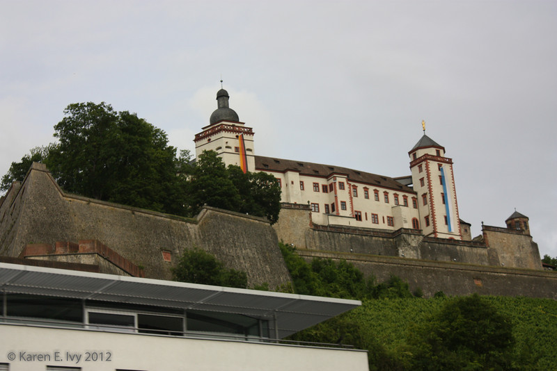 Fortress of Marienberg (Festung Marienberg), from the bus