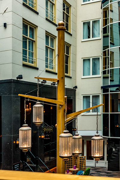 Inside Radisson Hotel - Amsterdam