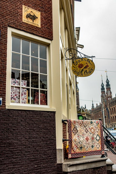 Amsterdam Fabric Store, Once a Locksmith's Shop