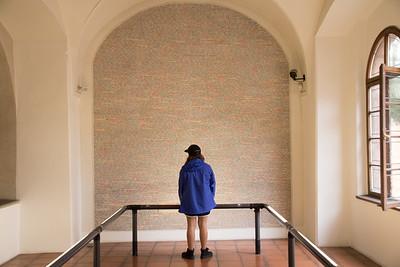 Holocost Memorial Wall - Prague