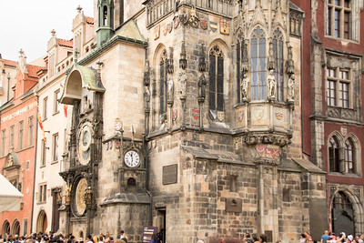 Prague Astromical Clock Building