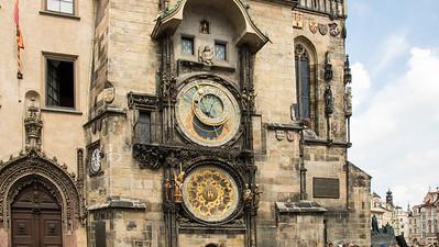 Famous Astronomical Clock (1410) - Prague