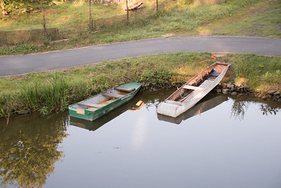 Small Boats on the Elbe