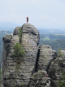 Sandstone Mountains along the Elbe - Bastei