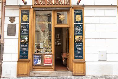 King Solomon - Prague's Oldest Jewish Restaurant