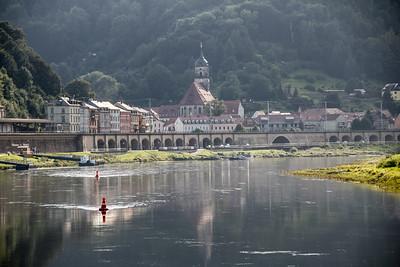 Elbe River View