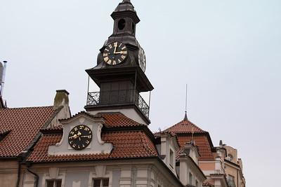 Hebrew Clock - Prague