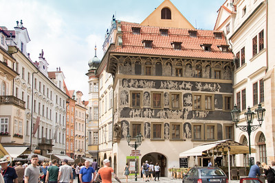 A Town Square in Prague