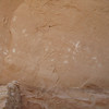 Pictographs at River House, San Juan River