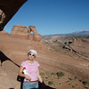 Rachael at Delicate Arch.