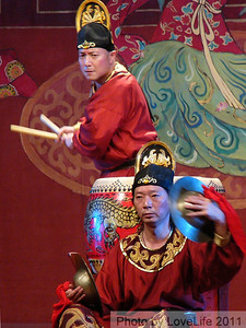 Drum with Cymbal-Tang Dynasty Show ~ Xi'an