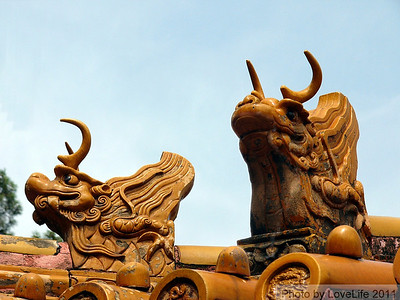 Forbidden City Gargoyles