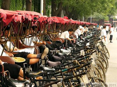 Pedicab Stand  ~ Beijing