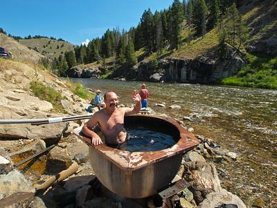 Pre-trip bath