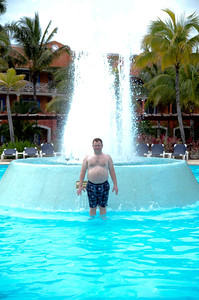 One of the many pools at Barcelo Maya Caribe - Puerto Aventuras, Mexico