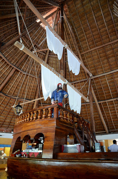 """Captain Morgan""  (Captain Morgan's Grill - Barcelo Maya Caribe - Puerto Aventuras, Mexico)"