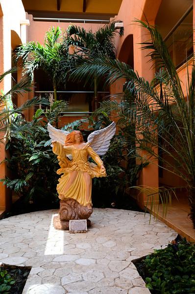 Archangel Santo Rafael, Barcelo Maya Colonial - Puerto Aventuras, Mexico