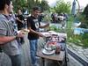 Alpine Roads BBQ @ Le Maronnier - Jean Francois presiding at the grill