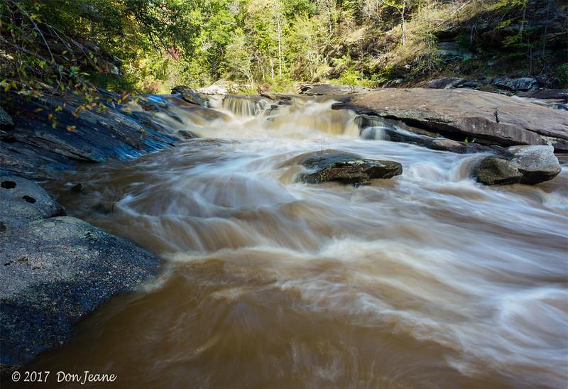 Ramsey Creek - in Chau Ram County Park. 10/24/2017.