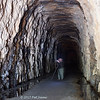 Stumphouse Tunnel - the largest of three unfinished tunnels started before the Civil War by the Blue Ridge Railroad. 10/24/2017.