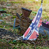 Saluda Hill Baptist Church - old Confederate gravesite. 10/23/2017.