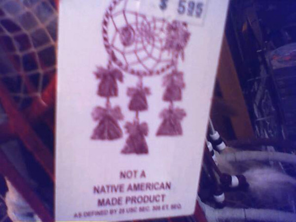 <h2>Not Made in America</h2> You can't have a dreamcatcher any other way.